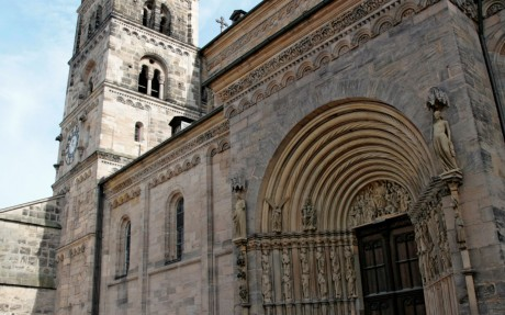 Fürstenportal des Bamberger Kaiserdoms © Archiv des BAMBERG Tourismus & Kongress Service