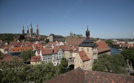 Blick auf Bambergs Bergstadt © Archiv des BAMBERG Tourismus & Kongress Service
